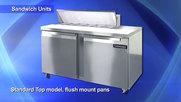 Continental Refrigeration Sandwich Prep Units