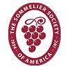 El logotipo de la Sociedad Sommelier de América