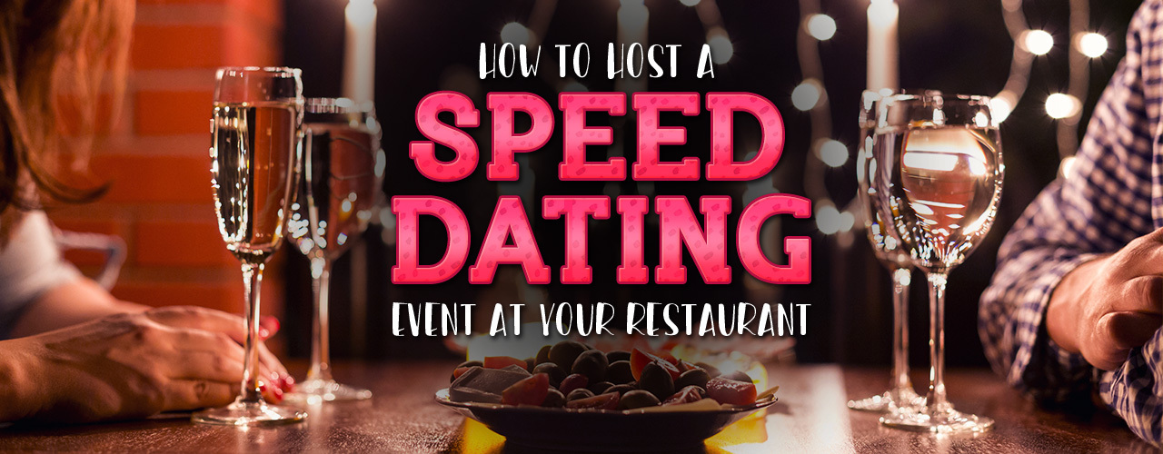 How do i host a speed dating event. Dating for one night.