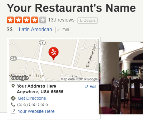 tips for making your restaurant stand out on google