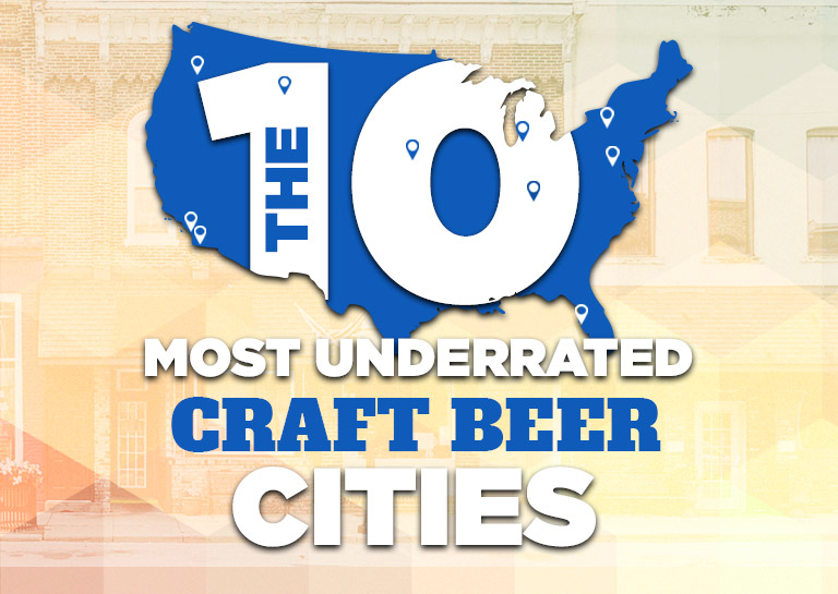 The 10 most underrated craft beer cities in america for Craft store frederick md