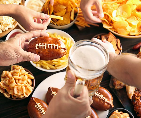 Sports-Themed Menu