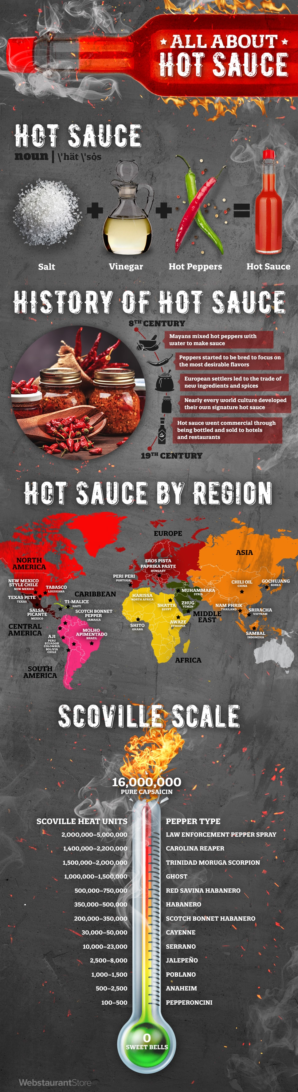 Hot Sauce Infographic