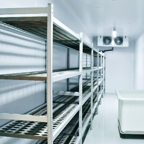 Boxes Of Fruit That Are Past Their Expiration Date Or Wrapped Pieces Mystery Meat Can Collect In Your Walk Fridge Commercial Freezer