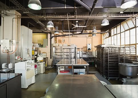 An Empty Commercial Kitchen