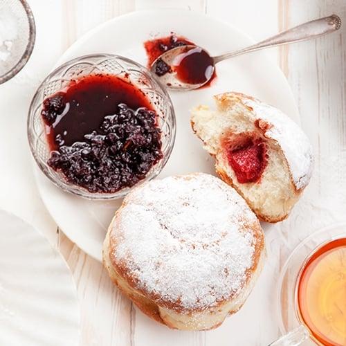 Sufganiyot Jelly Donuts