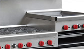 Cooking Performance Group 60-CPGV-6B-24RG-S26 6 Burner 60 inch Gas Range with 24 inch Raised Griddle/Broiler and Two 26 1/2 inch Standard Ovens