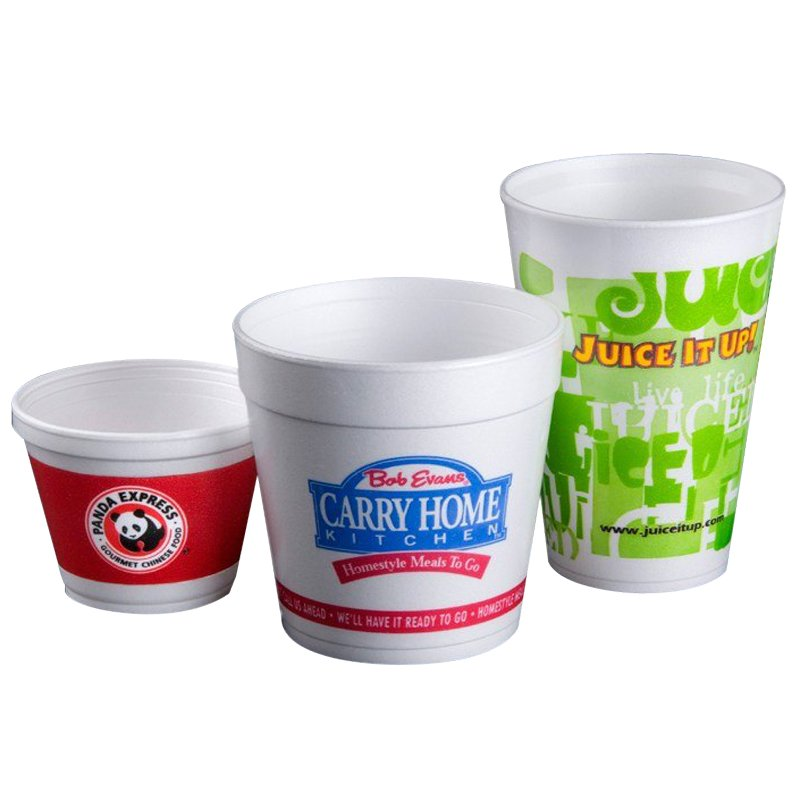 Customized take out containers