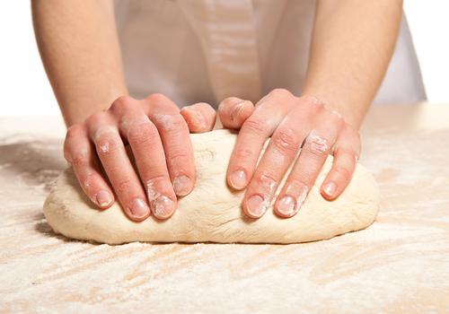masa amasadora de panadero