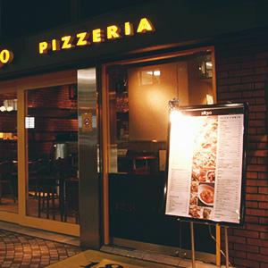 Menú de pizzería