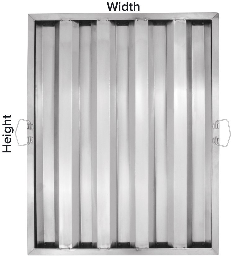 Exhaust Hood Filter Measurements