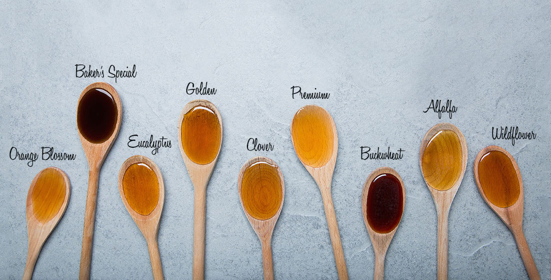 honey color comparisons