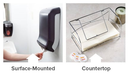 Types Of Paper Towel Dispensers