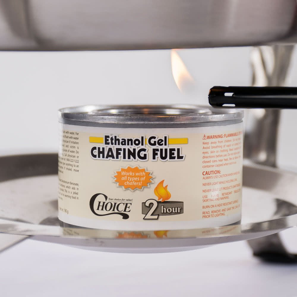 What is Chafing Fuel | Chafing Fuel Guide | Types of Chafing Fuel