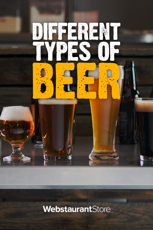 Types Of Beer Amp Styles A Comprehensive Guide