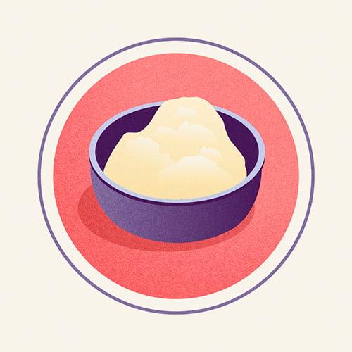 Illustration of Cultured Butter