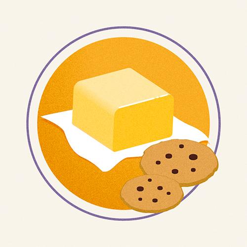 Illustration of European Butter