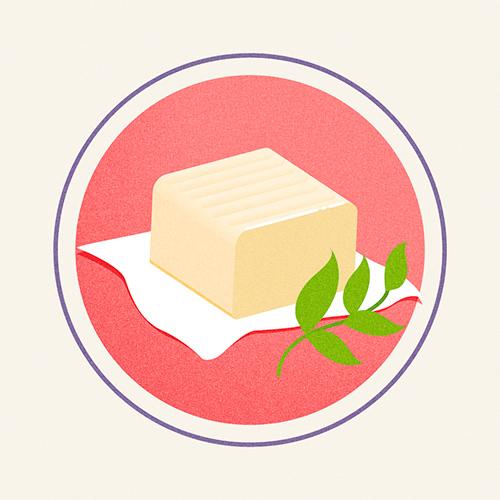 Illustration of Plant Based Butter