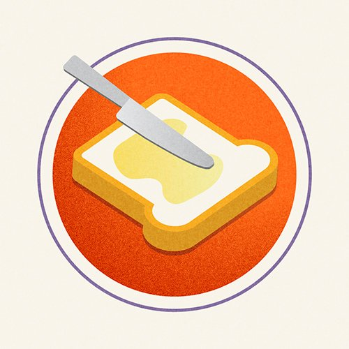 Illustration of Spreadable Butter