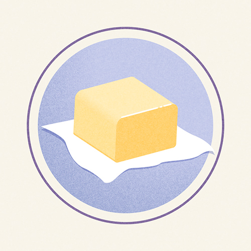 Illustration of Unsalted Butter