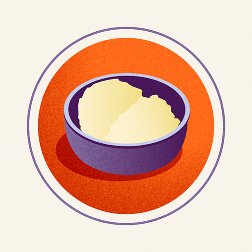 Illustration of Whipped Butter