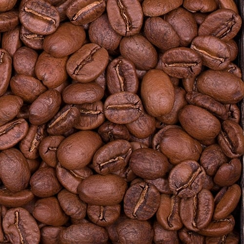 Medium roast whole coffee beans