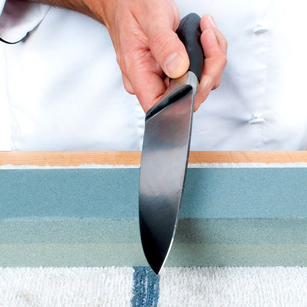 Use a Sharpening Stone
