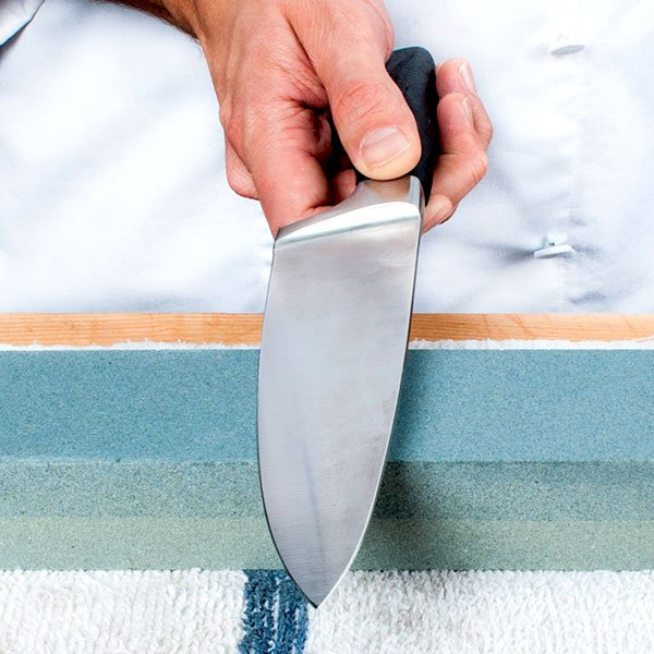 Sharpening Your Knives Its All About Consistency Stone Demo