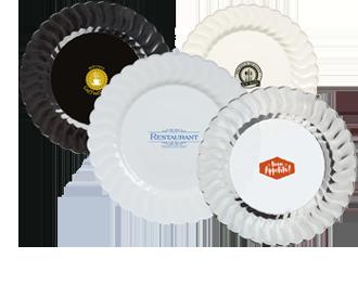 Custom Plastic Plates  sc 1 st  WebstaurantStore & Customizable Plastic Plates   Personalize Your Plastic Plate