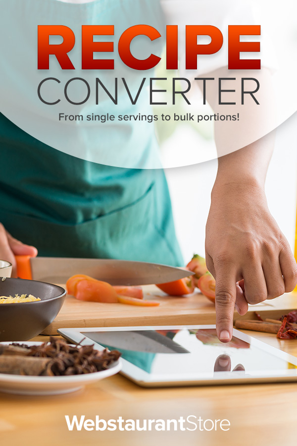 Recipe Converter Recipe Multiplier Recipe Divider