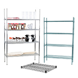 Restaurant Kitchen Metal Shelves commercial shelving | restaurant shelving | commercial kitchen racks