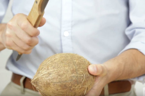 Hit the Center of the Coconut