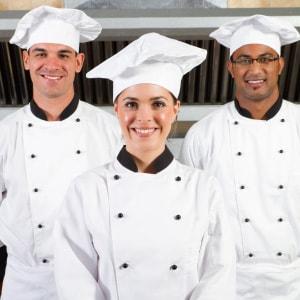 Tres tipos diferentes de chefs.