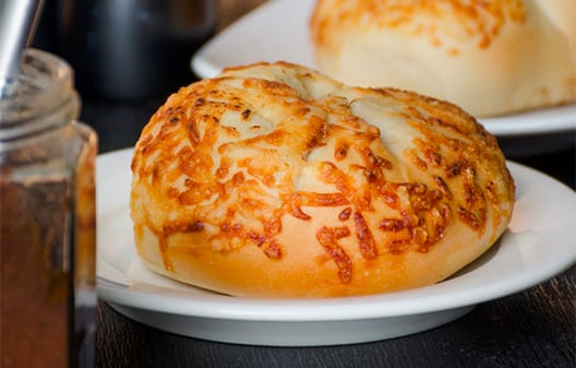 New York Style Asiago Cheese Bagel
