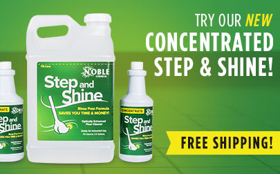 Concentrated Step and Shine Floor Cleaner