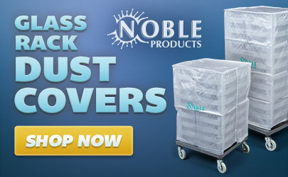 Noble Products glass rack dust covers available now!