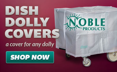 Noble Products dish dolly covers available now!