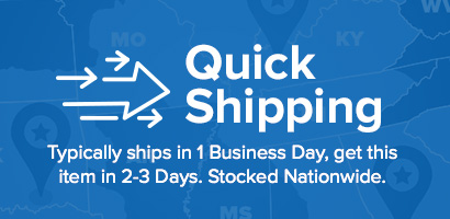 Typically ships in 1 Business Day, get this item in 2-3 Days!