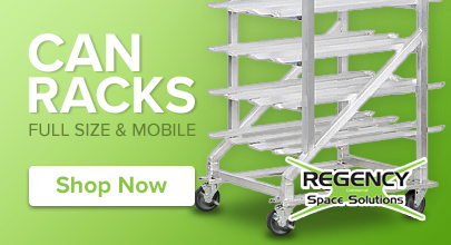 Regency can racks