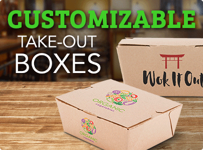 Customizable Take-Out Boxes