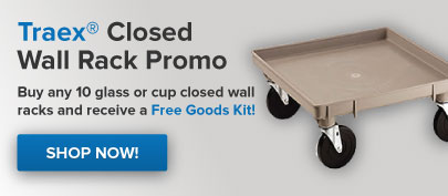 Traex Closed Wall Rack Promo