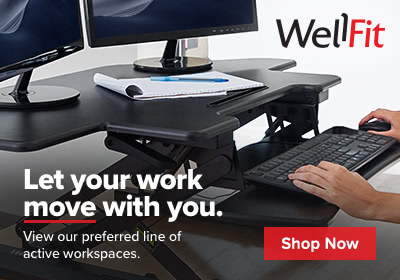 Shop WellFit Standing Desks and Monitor Arms