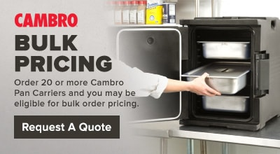 Cambro Insulated Food Pan Carriers