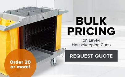 Lavex Housekeeping Carts Bulk Order Pricing