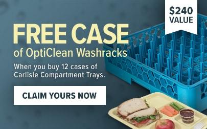Free Case of OptiClean Washracks