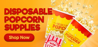 Shop Disposable Popcorn Supplies