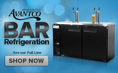Shop Bar Refrigeration