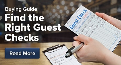 Find the right guest checks