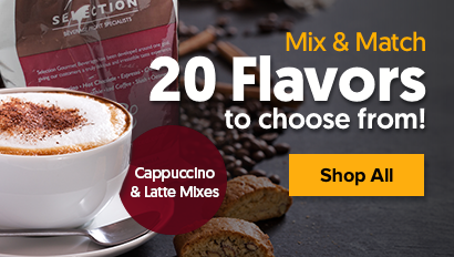 Shop Selection Cappuccino Mixes