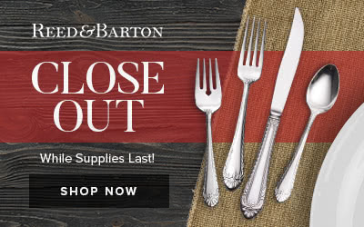 Shop Reed Barton Closeout Sale